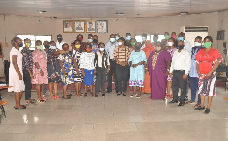 The Clinical Services Department of Federal Neuro-Psychiatric Hospital, Benin City, Trains its Staff on Effective Communication & Clinical Skills