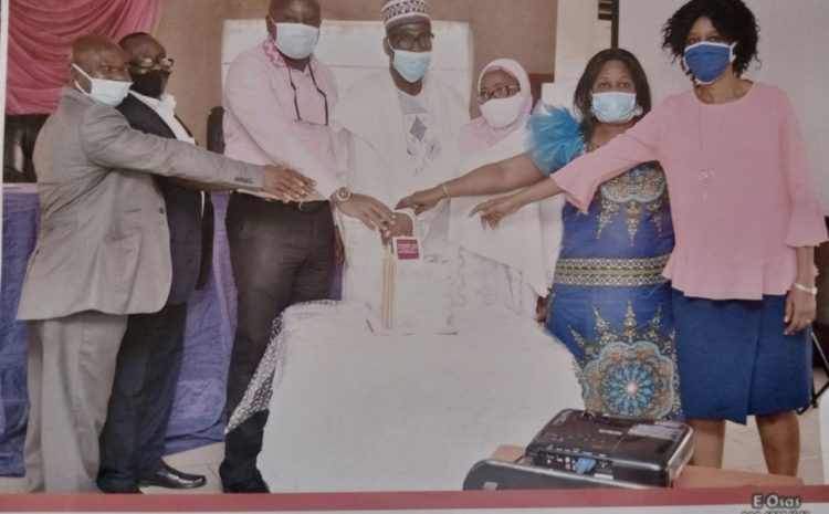 Management of Federal Neuro-Psychiatric Hospital, Benin City Organized a Send-forth Retirement Party in Honour of Mr. N.U. Igbinidu, Former H.O.D of Internal Audit